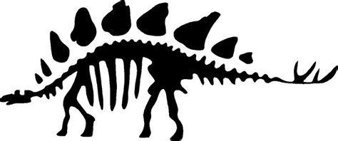 stegosaurus skeleton beautiful wall decals