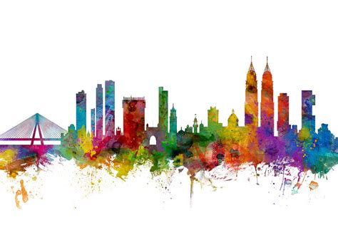 How To Sell Home Decor Online by Mumbai Skyline India Bombay Digital Art By Michael Tompsett