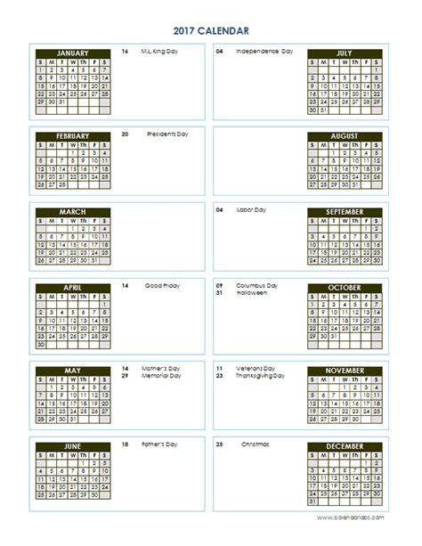 printable calendar vertical 2017 2017 yearly calendar template vertical 02 free printable