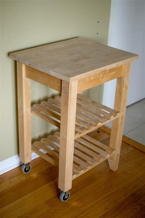 Bekvam Kitchen Cart by Bekvam Solid Birch Kitchen Cart Gloucester Gatineau