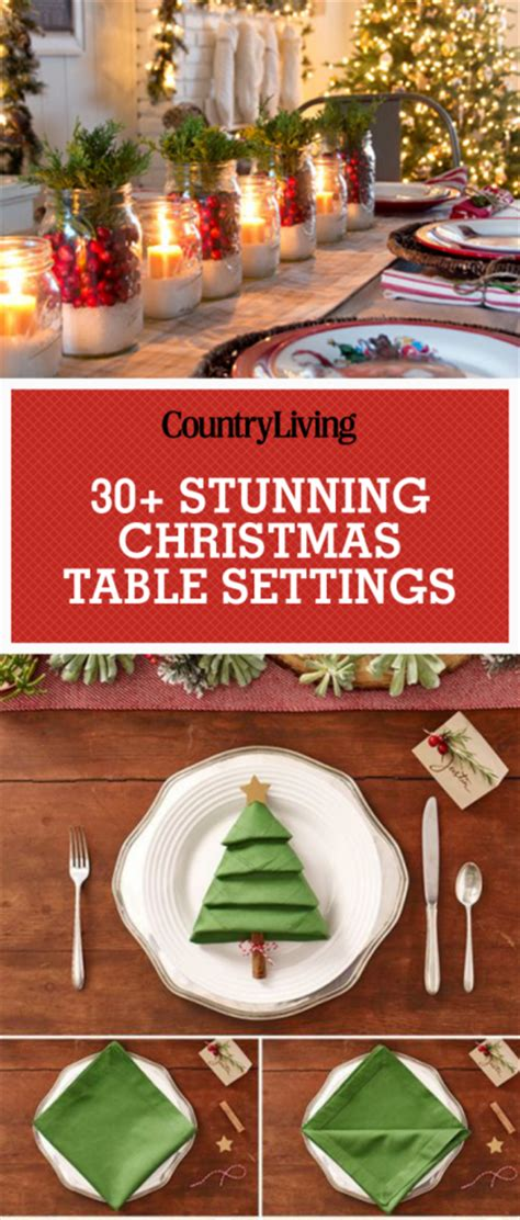 15 holiday place setting ideas how to decorate 43 breathtaking christmas table settings centerpieces