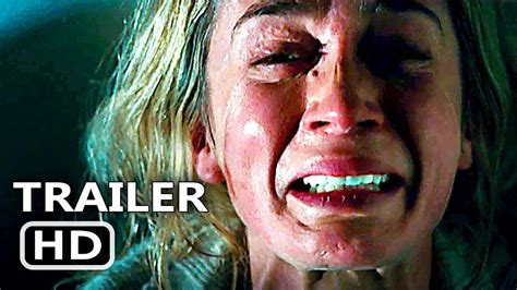emily blunt latest movie a quiet place official trailer 2018 emily blunt thriller