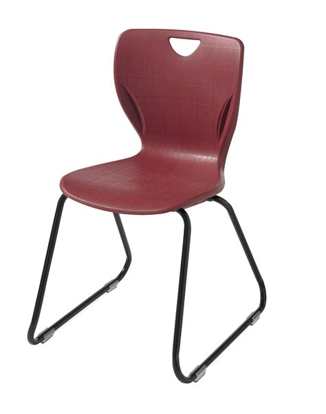 Felt Chair Glides by Classroom Select Sled Base Chair With Felt