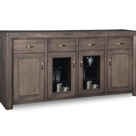 contempo large display sideboard home envy furnishings