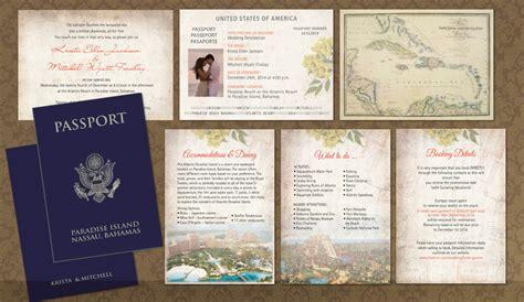 passport wedding program template diy passport wedding invitations template invitation