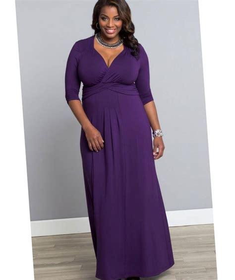 Purple Maxi Dress purple maxi dress plus size pluslook eu collection