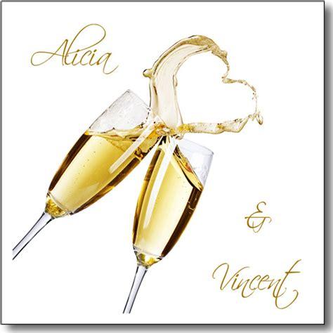 Faire Part Mariage Champagne Magique Collection Magie De