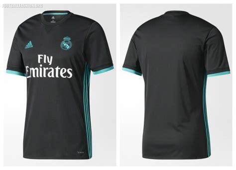 Jersey Real Madrid Away 2017 2018 Set Kit Official Cetak Nama real madrid 2017 2018 adidas home away kit 9 football fashion org