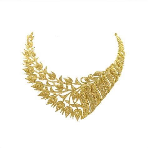Gold Necklace Sets Online: Buy Pattravisesh Gold Necklace Set of article Necklace Set for Women