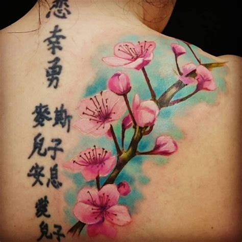 tattoo japanese cherry blossom tree cherry blossom tattoos
