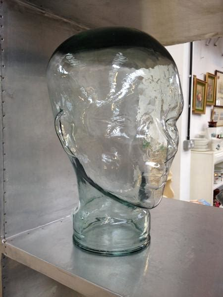 glass mannequin home glass mannequin head home alchemy