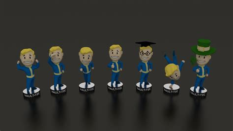 fallout 4 7 bobbleheads fallout 3 s p e c i a l bobbleheads by walrus159 on