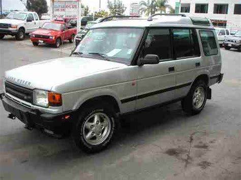 download car manuals 1996 land rover discovery lane departure warning land rover discovery 1995 1996 service workshop shop repair manual