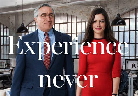the intern trailer the intern trailer and poster featuring hathaway and