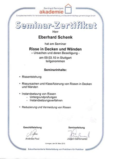 Schimmel An Wänden 2675 by Eu Zertifizierung Nach Din En Iso Iec 17024 Euronorm 54013