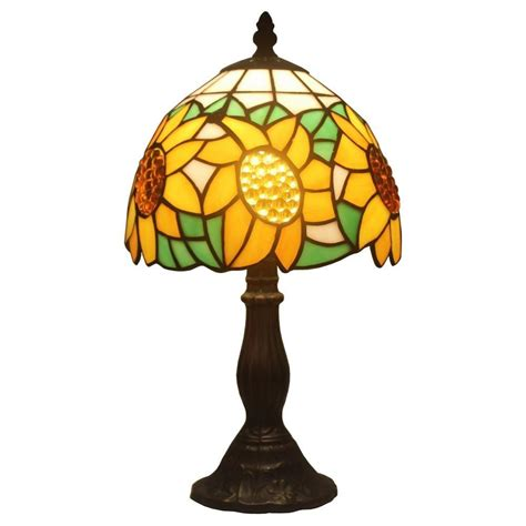amora lighting tiffany l amora lighting 15 in tiffany style sunflower l