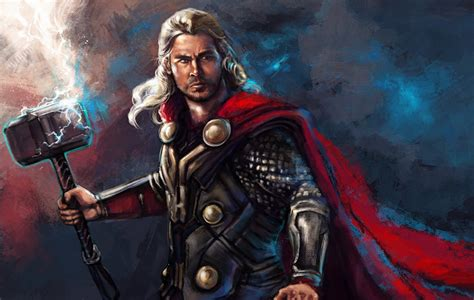 Film Fantasy Z Hemsworthem | foto thor chris hemsworth comic helden mann kriegshammer blitz