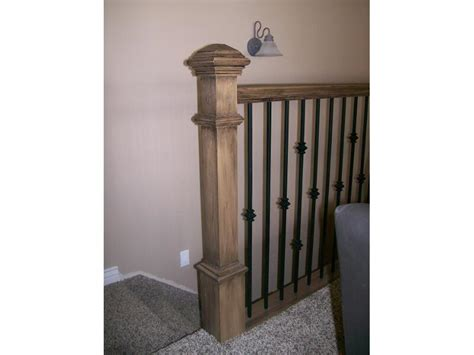 banister pole banisters telisa s furniture and cabinet refinishing