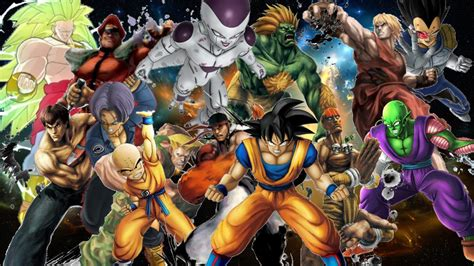 dragon ball z villains wallpaper dragon ball z all characters backgrounds dodskypict
