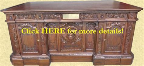 Oval Office Desk Replica by Resolute Desk Replicas Of The White House Oval Office