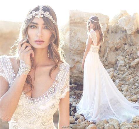 beaded bohemian wedding dress 2016 new bohemian lace wedding dresses 2015