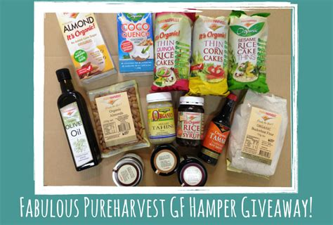 Free Food Giveaway Today - the food werewolf pureharvest gluten free her giveaway competition now closed