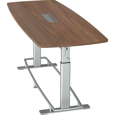 Standing Conference Table by Focal Upright Furniture Confluence 8 Fbt 1000 Wa 94 B H Photo