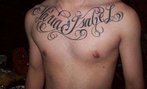chest tattoo with names my mom s name on my chest tattoo