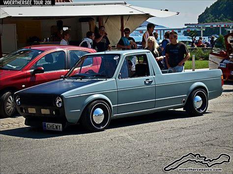 vw golf mk1 caddy pickup by retromotoring via flickr