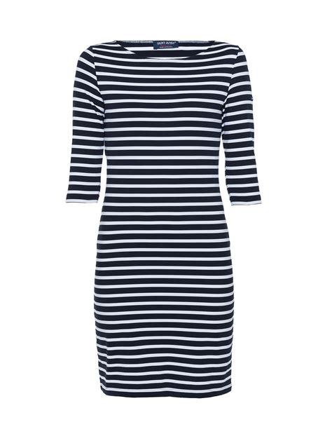 Dress Navy Stripe propiano navy and white striped dress