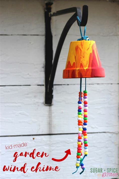 wind chime craft for kid s craft ideas garden wind chimes gardens crafting