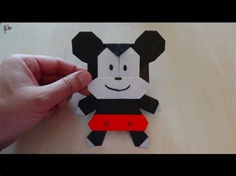 Origami Mickey Mouse - 17 best images about japanese okinawan crafts etc on