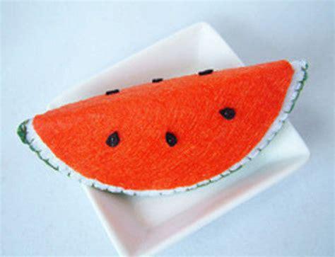 Felt Watermelon Pattern | felt watermelon slice 183 how to make a melon plushie