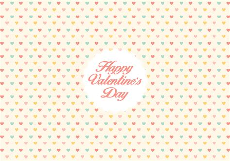 heart pattern free vector valentine s day heart pattern background download free