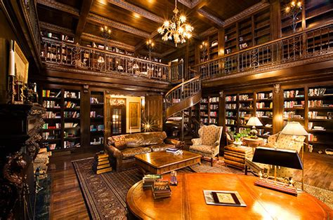 library in house homes with libraries for billionaires alma
