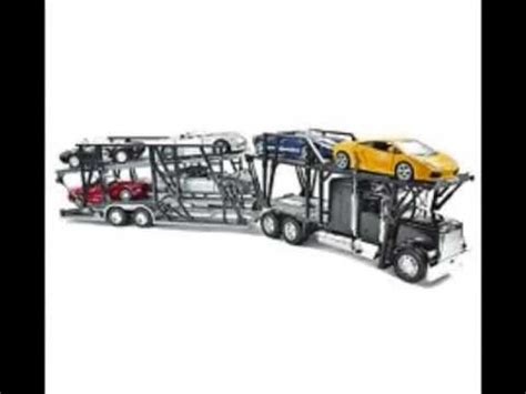Truck Haulier 1 32 Mib freightliner classic xl car hauler 1 32 scale diecast truck model car transporter for