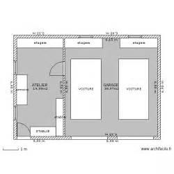 garage double atelier plan ces pinterest free sample plans pdf and dwg