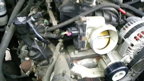 remove  replace ls throttle body vortec