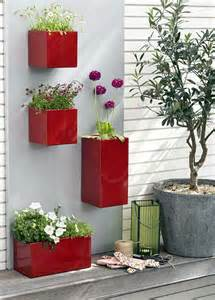 three cool wall planters