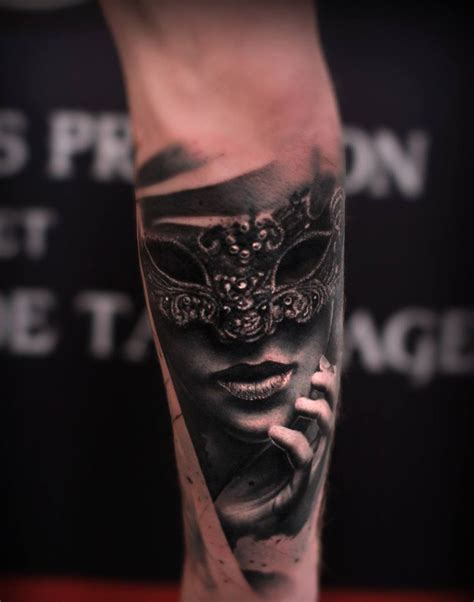 masquerade tattoos 30 of the most beautiful and mysterious venetian mask