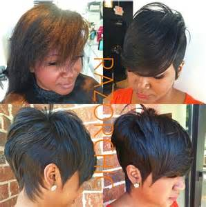 the styles in atlanta ga on black hairstyles 25 best ideas about razor chic on pinterest ravaughn