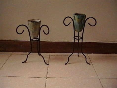 venta de candelabros usados porta macetas o porta velas de fierro coyoac 225 n