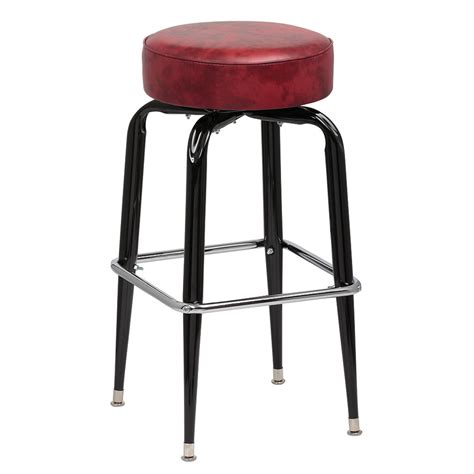 royal industries bar stools royal industries roy 7723 crm black square frame bar stool