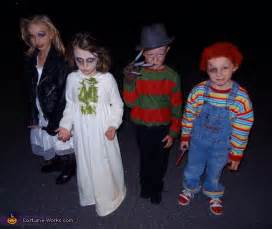 Homemade horror movies costumes for kids