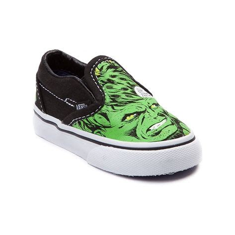 kid journeys shoes toddler vans slip on skate shoe green