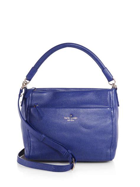Kate Spade Bag Terbaru lyst kate spade new york cobble hill curtis shoulder bag in blue