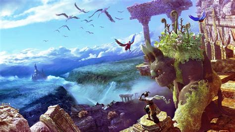 imagenes 4k ultra hd anime tierra magica wallpaper wallpapers gratis imagenes
