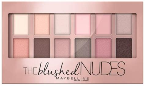Maybelline Eyeshadow Palette new maybelline the blushed eyeshadow palette lip drama