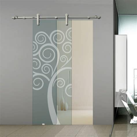disegni su vetro per porte bertolotto scorrevole collezione alaska 200 una porta dalla