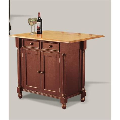 sunset trading kitchen island sunset trading nutmeg kitchen island with light oak drop